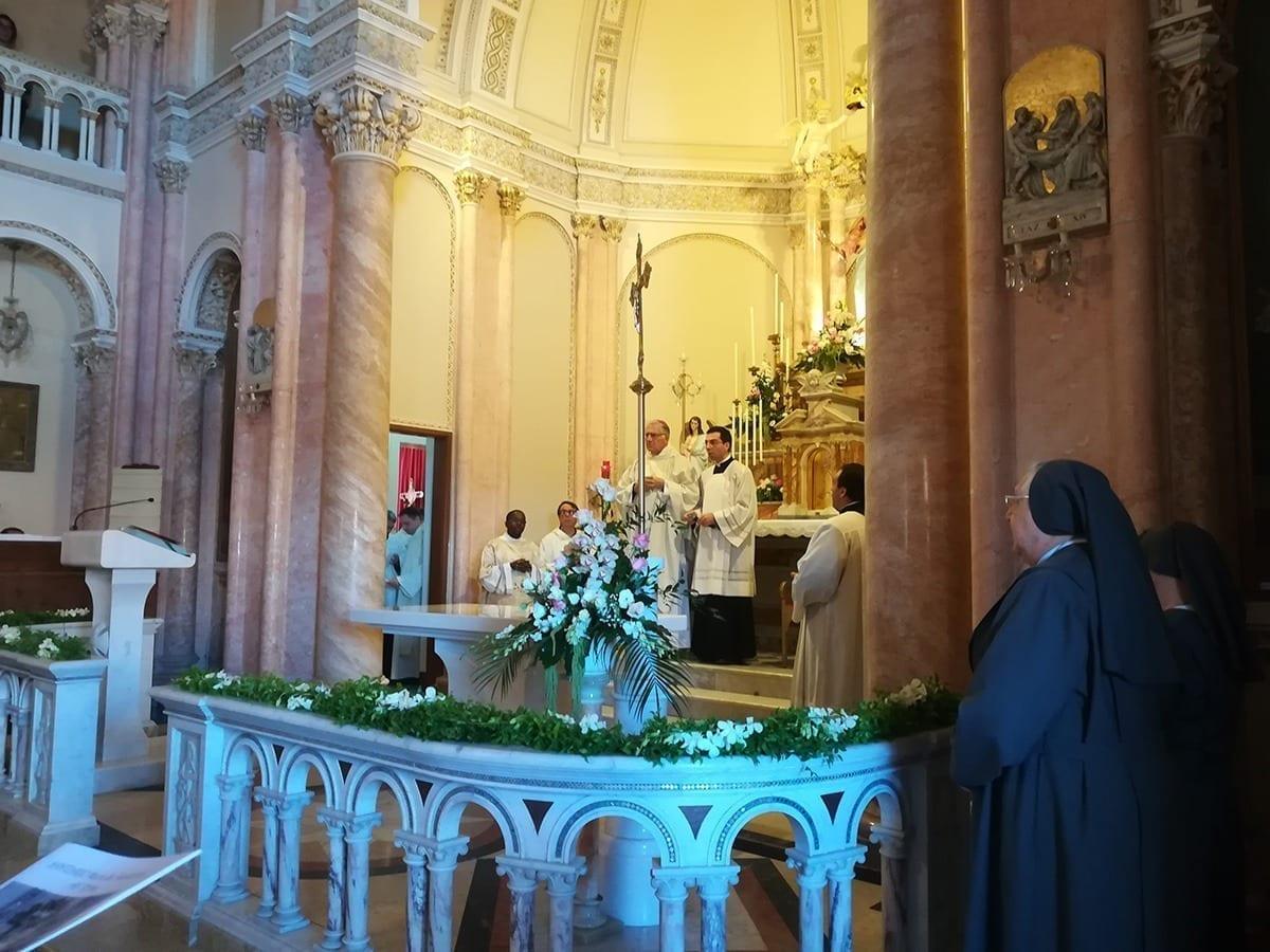 È Santuario la Cappella Maria Ausiliatrice di Alì Terme