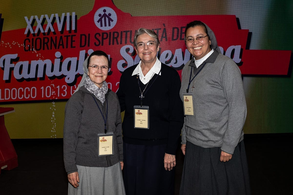L'equipe dell'ambito per la Famiglia Salesiana