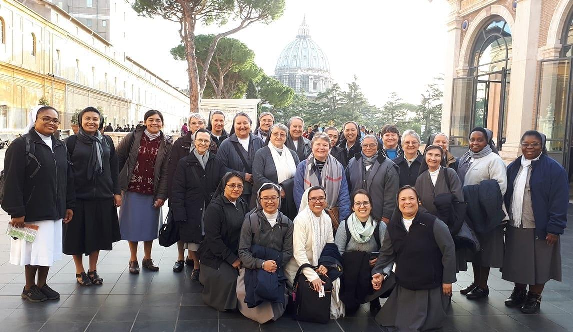 Gruppo visita Mostra Mater Amazonia Musei Vaticani