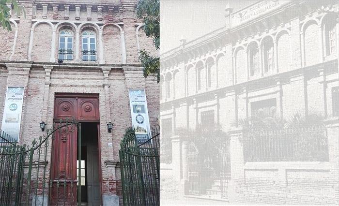 Portone Ingresso Scuola Maria Maria Ausiliatrice Carmen de Patagones.