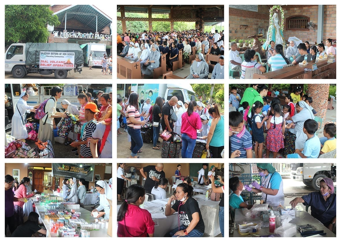 giornata soccorso task force FMA Filippine