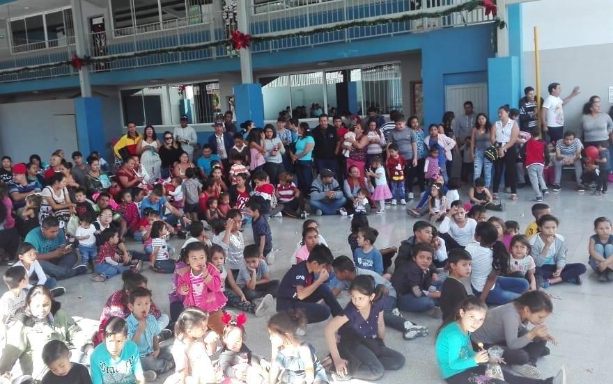 Migranti alla Posada Navidena a Monterrey