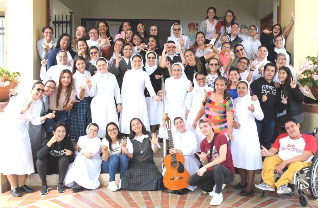 Gruppo incontro catechesi e PG in Colombia