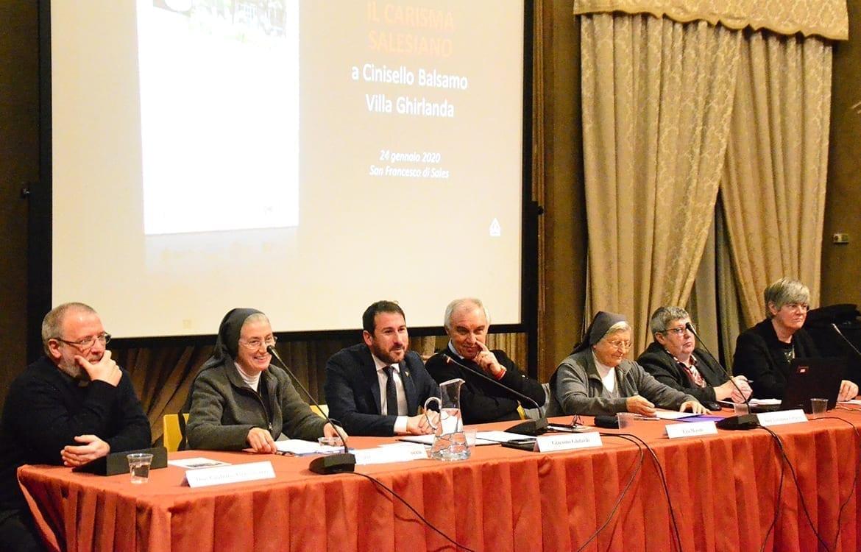 Relatori convegno Sr Iside Malgrati 24 gennaio 2020.