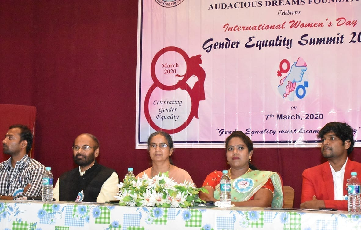 Gender Equality Summit 2020, Vellore (India)