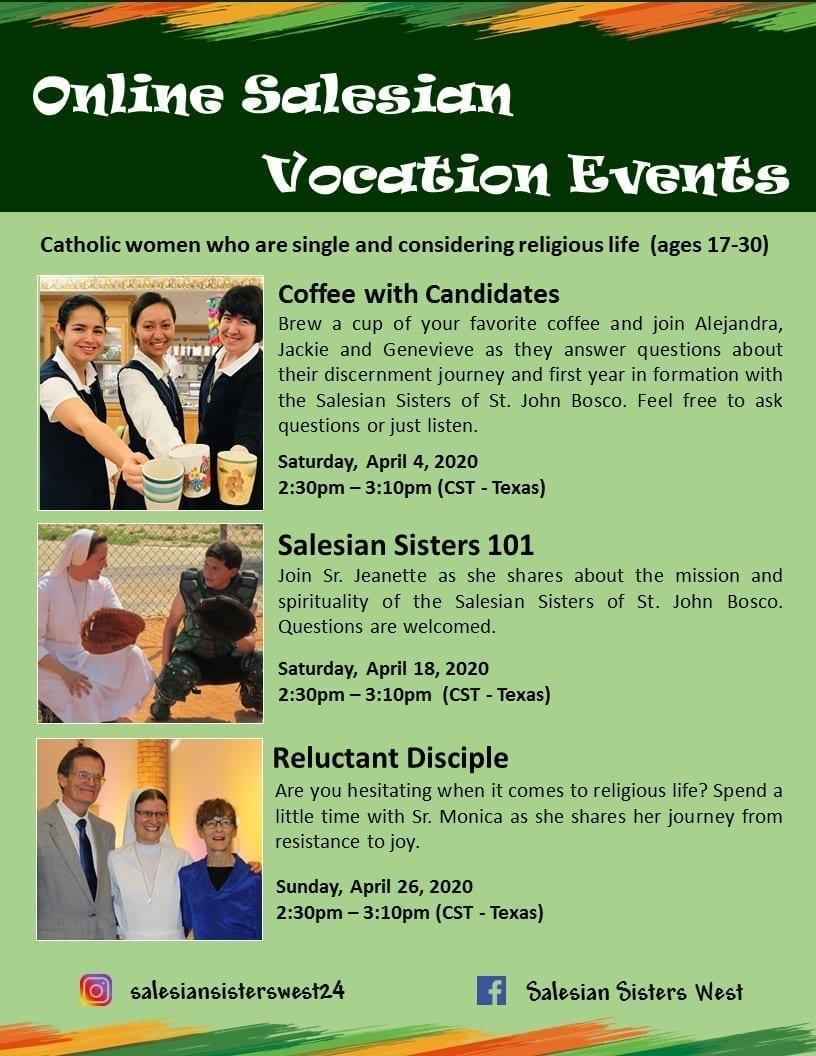 Eventi vocazionali SUO