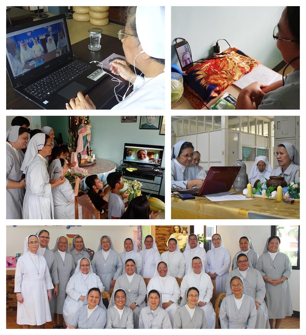 foto visita online sr Lucy Rose Filippine (FIL)